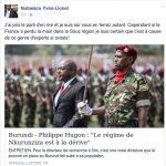 Pourquoi les occidentaux veulent un GENOCIDE -TUTSI- au Burundi ?