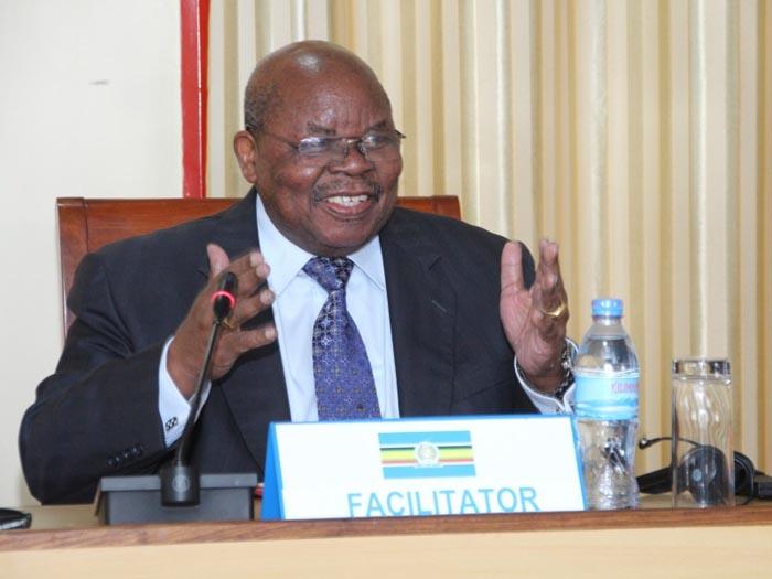 Résume du facilitateur relatif à la 4ème session du dialogue inter-burundais tenu du 27 novembre 2017 au 8 décembre 2017 à NGURDOTO MOUNTAIN LODGE, ARUSHA, TANZANIE