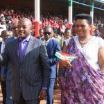 La famille présidentielle organise une prière d'action de grâce dans la province Kayanza