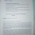 La coalition gouvernementale Amizero y'Abarundi, à travers 25 de ses députés, qualifie la politique gouvernementale de contribution volontaire pour financer les élections de 2020 d'ANTICONSTITUTIONNELLE.