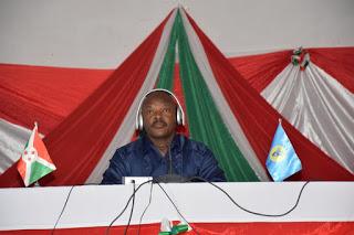 Emission publique animée par le Chef de l'Etat Burundais à Kayanza