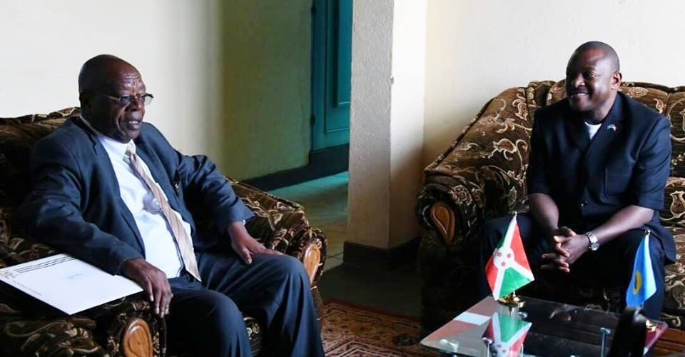 Le Président en exercice de l'EAC envoye un émissaire au Burundi