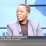 """Il n'y a pas de crise au Burundi"", dixit Amb. Christine-Nina NIYONSAVYE, Africa 24."