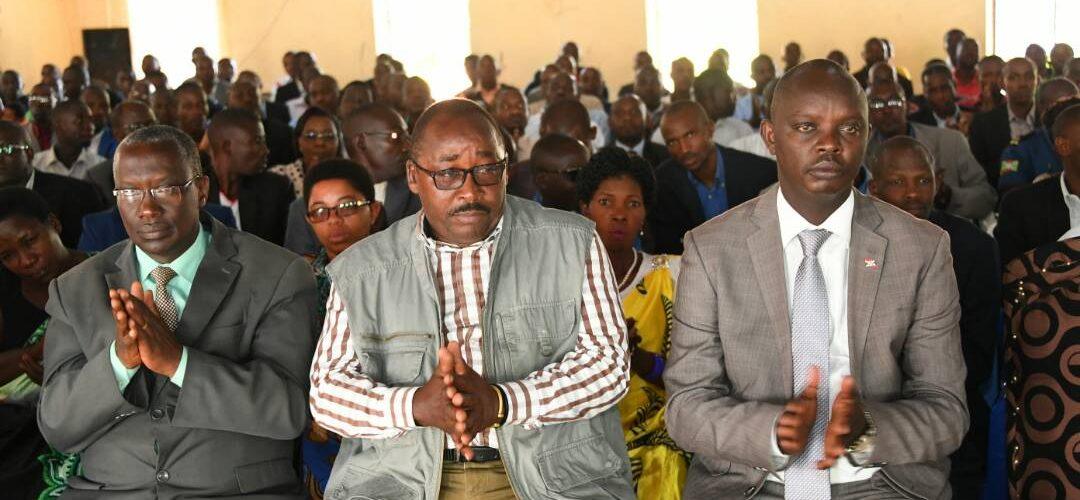 Le Président Nkurunziza en séance de moralisation à Kirundo, au nord du Burundi