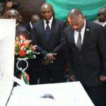 Dernier hommage officiel à Feu Mme Thérèse Bandushubwenge, -Maman- de Feu Melchior Ndadaye.