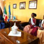 Le Président Nkurunziza reçoit les Miss Burundi 2017-2018
