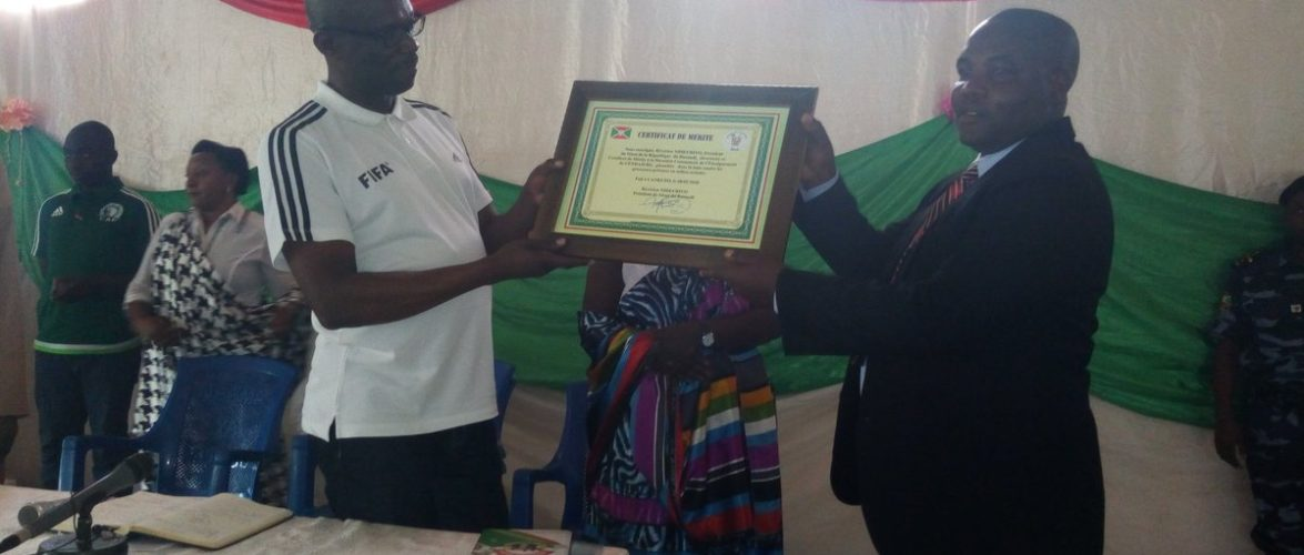 Réduction à zéro du taux des grossesses non désirées chez les filles en milieu scolaire à Cendajuru,CANKUZO