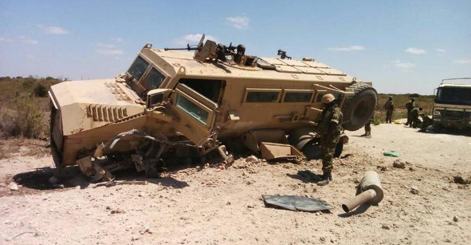3 militaires burundais FDNB de l'AMISOM blessés suite à un engin explosifs à Gololey, à 50km de Mogadiscio