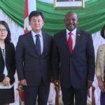 Le chef de l'Etat reçoit en audience neuf nouveaux ambassadeurs
