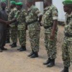 Une équipe de l'Union Africaine visite le contingent burundais de l'AMISOM