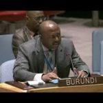 Discours de S.E.M. l'Ambassadeur Albert SHINGIRO au Conseil de Sécurité de l'ONU.