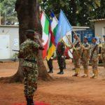 Remise des médailles aux casques bleus du troisième contingent burundais