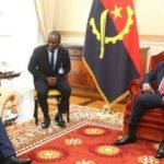 Le Présidence de L'Angola S.E. João Manuel Gonçalves Lourenço reçoit une délégation burundaise...
