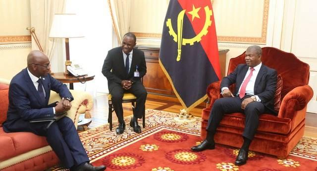 Le Présidence de L'Angola S.E. João Manuel Gonçalves Lourenço reçoit une délégation burundaise…
