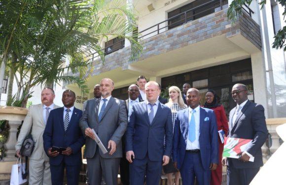 Les investisseurs RUSSES – Mordoves – s'engagent économiquement au Burundi
