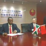Le Burundi signe avec China First Highway Engineering, la 2ème phase des travaux du Palais présidentiel de Gitega