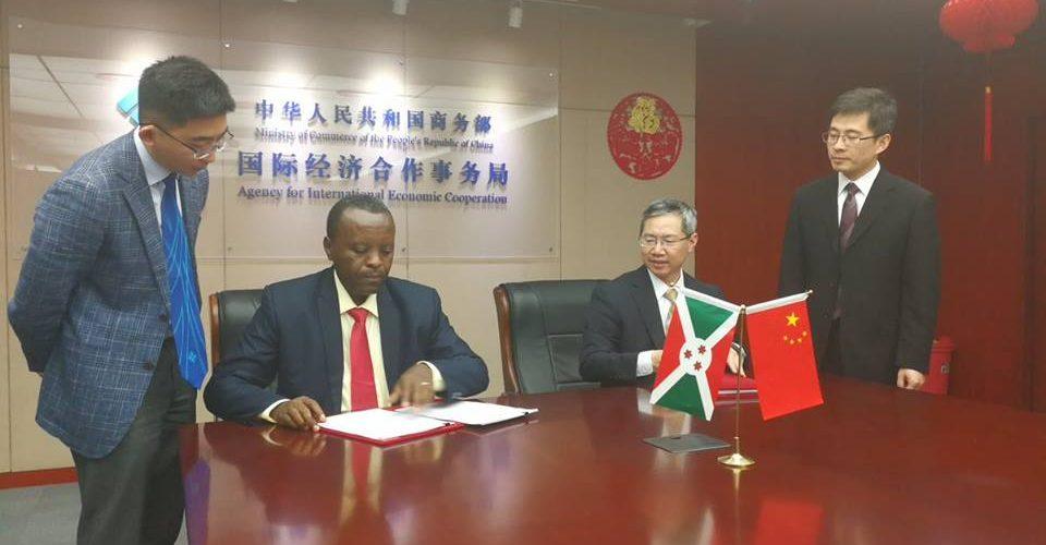 Le Burundi signe avec China First Highway Engineering, la 2ème phase des travaux du Palais présidentiel de Gitega