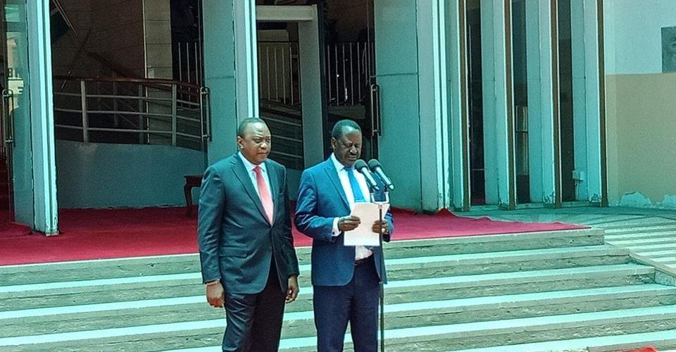 Face à face Kenyatta / Odinga : Les Kikuyu et les Luo font la paix au Kenya