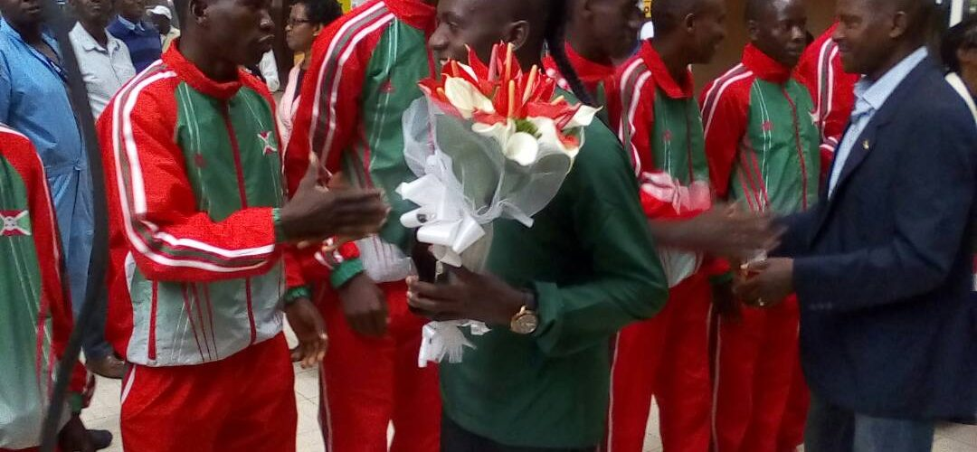 Burundi : Niyonsaba Francine de retour de Birmingham,avec l'OR 800 M Dames