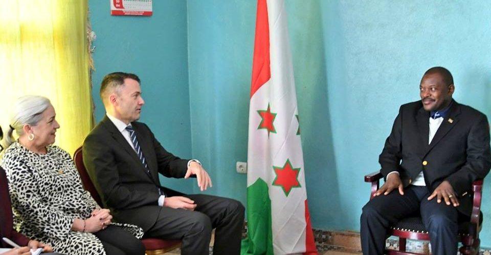 La Configuration Burundi au sein du Conseil Paix et Sécurité de l'ONU rencontre le Chef d'Etat, S.E. Pierre Nkurunziza