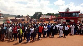Manifestations contre un récent rapport de la commission d'enquête de l'ONU