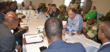 Le Président de Hirshabelle demande l'Appui des partenaires dans l'integration des Forces de sécurité