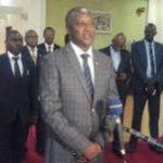 Retour d'Ouganda du Premier vice-président de la République