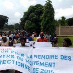 Commémoration du 3ème anniversaire du déclenchement de l'insurrection de 2015