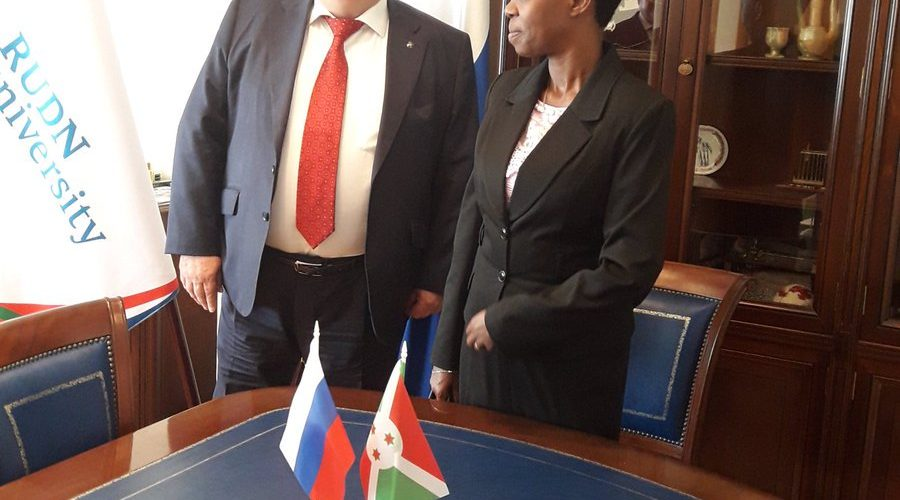 La Ministre Burundaise de l'Education en Russie pour un renforcement des échanges inter-universitaires