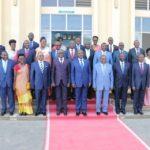 Prestation de serment du nouveau gouvernement du Burundi ( AVRIL 2018 )