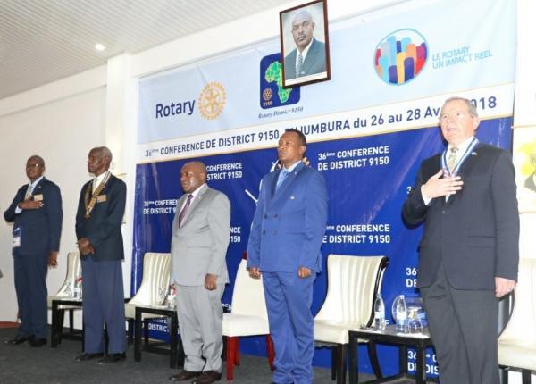Burundi : Bujumbura accueille la 36ème conférence du district 9150 de Rotary International