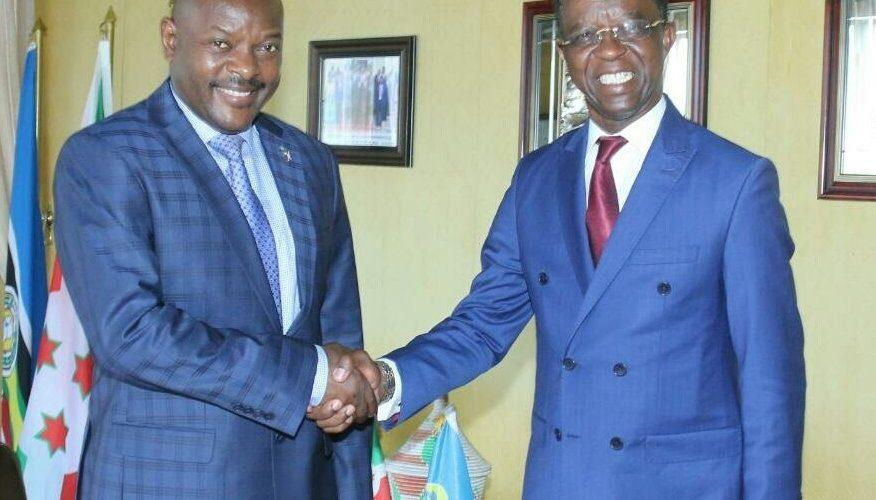 Visite du président du parlement panafricain à Bujumbura