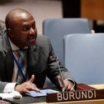 S.E.M. l'Ambassadeur Albert SHINGIRO, Représentant Permanent du Burundi auprès de l'ONU a donné une communication limpide.