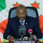 Discours de S.E.M. Pierre NKURUNZIZA, Président de la République du Burundi après la promulgation de la nouvelle Constitution de la République du Burundi le 7 juin 2018