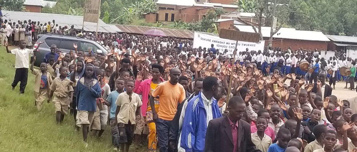 Le peuple burundais inlassablement mobilisé face à ses détracteurs