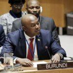 Briefing du Conseil de Sécurité sur la situation au Burundi : discours de l'Ambassadeur NSHINGIRO Albert