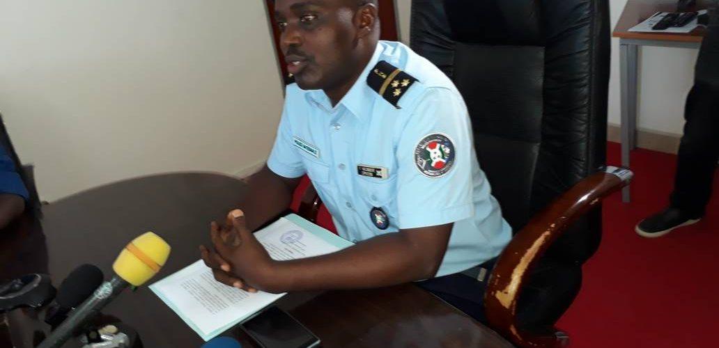 Burundi : Chute spectaculaire de la criminalité au mois d'avril 2018