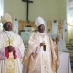 Prise de possession canonique de l'archidiocèse de Bujumbura par Mgr Gervais Banshimiyubusa