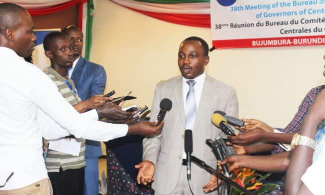 """""""Le niveau atteint par le Burundi pour respecter les critères de convergence en vue de la monnaie unique de l'EAC est satisfaisant"""""""