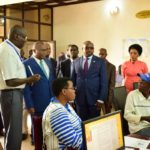 Visite du Ministre burundais des finances à l'API