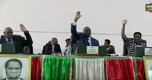 L'Assemblée Nationale adopte son règlement intérieur à la Constitution nouvellement promulguée