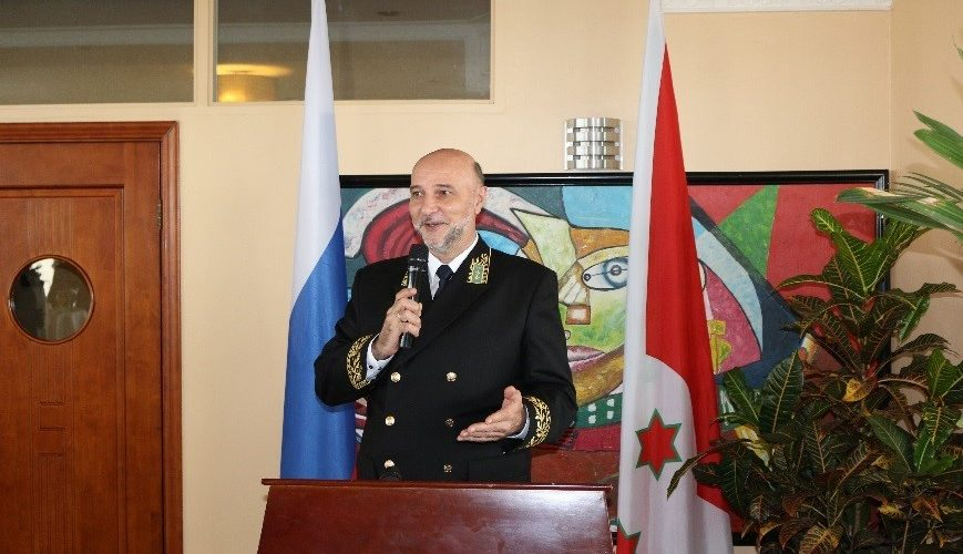 Célébration de la journée nationale de la Russie au Burundi