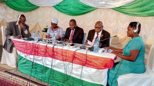 Les Porte-parole animent une émission publique au chef-lieu de la province Bururi