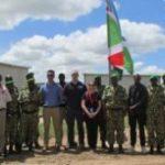 Visite de l'équipe de l'UNMAS/New-York au contingent burundais de l'AMISOM