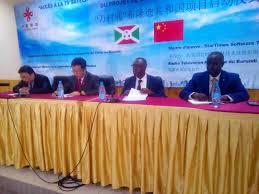 Coopération Sino-Africain: 300 villages burundais vont bientôt accéder à la TV par Satellite