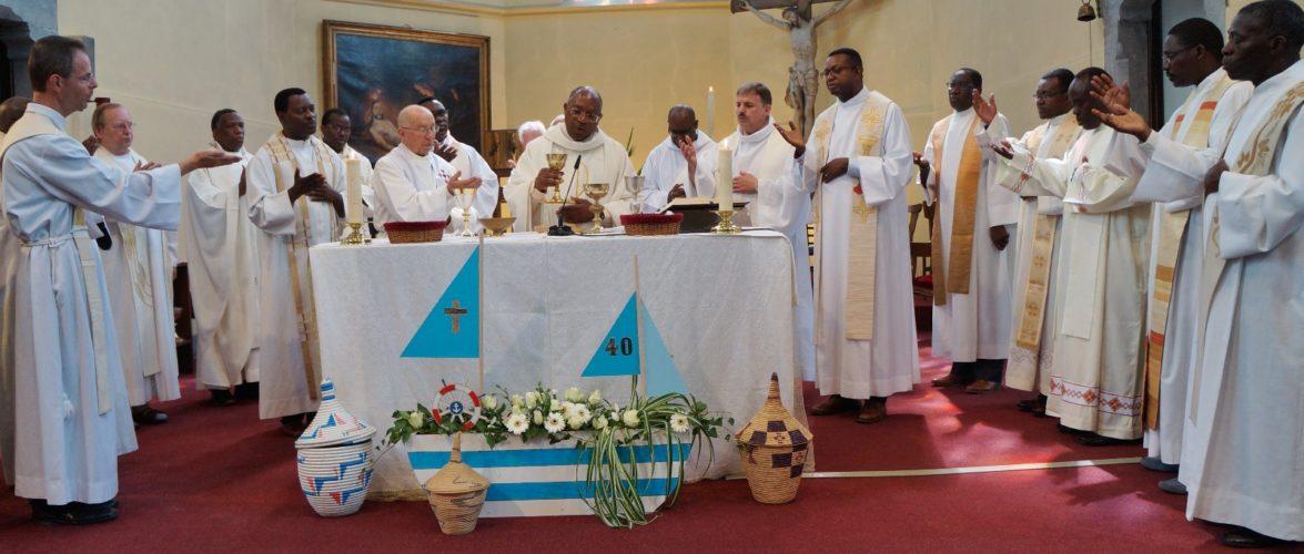 40 ans de prêtrise, félicitations à Monsieur l'Abbé Daniel Nahimana, Curé-Doyen à Barvaux en Belgique