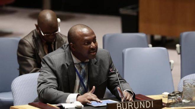 L' Ambassadeur Albert Shingiro – Le Burundi  plus de 6.000 Casques Bleus mobilisés pour la Paix dans le Monde.