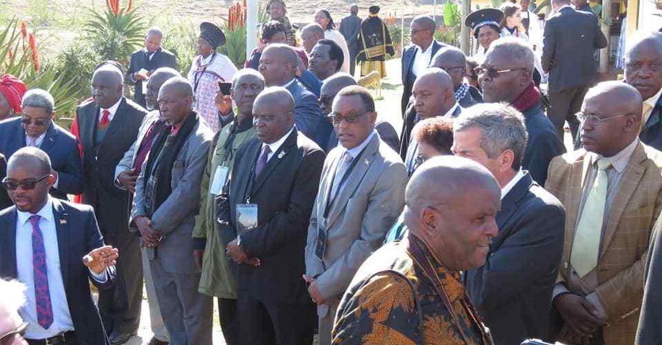 La délégation du parlement burundais a participé aux cérémonies marquant la célébration du centenaire de Nelson Mandela