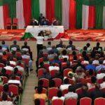 Séance de moralisation par le président de la République en commune Ntahangwa