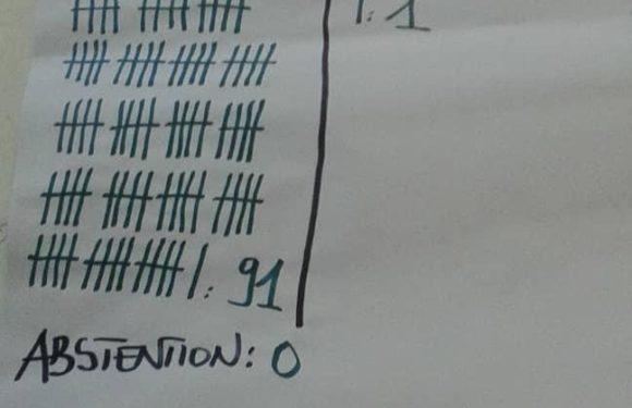 L'Assemblée Nationale du Burundi a voté – OUI – 7 nouveaux membres de la CENI